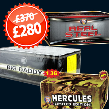 Real Steel, Hercules Limited edition and Big Daddy