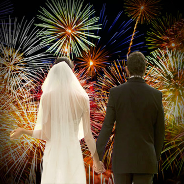 Firework Wedding packages Inverness