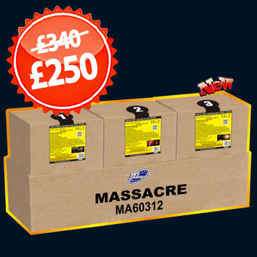 3 in 1 Massacre - OUT OF STOCK